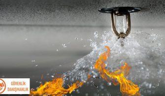 sulu yangın söndürme sistemi