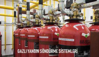 Gazlı Yangın Söndürme Sistemi Teknolojileri