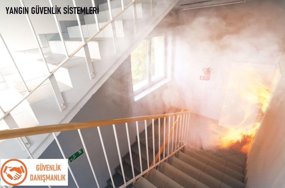 ofiste yangın güvenlik